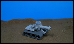 All Quiet on the Southern Front (Karf Oohlu) Tags: lego moc microscale tank afv armour weapon trackedvehicle