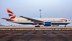British Airways Boeing B777-200(ER) G-YMMF Bangalore (BLR/VOBL) (Aiel) Tags: britishairways boeing b777 b777200er gymmf bangalore bengaluru canon60d