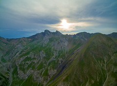 Flying in the Alps (Angel JB) Tags: ifttt 500px mountain peak valley pass mountainside alps slope range alpine aerial drone dji france