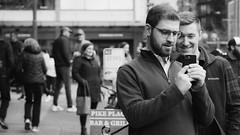 the voigtlander 90 3.5 lens. (mojave1951) Tags: nikondf voigtlander90mm35lens seattle streetphotography blackandwhite blackandwhitestreetphotography blackandwhiteportrait