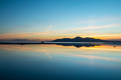 Minerstown_beach_October2018 (ryan.c.dallas) Tags: sunset mountains sea seaside seascape skyline beach clouds landscape landscapes ireland northern county down canon 70d efs 1022mm