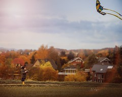 fly Butterfly fly (agirygula) Tags: autumn fly dragon butterfly nature landscape houses house clouds fun laughing child family