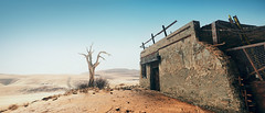 Mad Max (screenreel) Tags: landscape sky soil desert clouds day light bright building horizon tower survivors car vehicle atmosphere graphics photo screenshot camera angle blur colorfull destroyed abandoned rock videogame digital gaming pc tree grass road blue madmax apocalypse steel metal door window hope