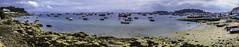 Porto do Xufre, en Illa de Arousa (joaquim_cazorla) Tags: barco illadearousa paisaje panorama pueblo puerto galicia riasbaixas