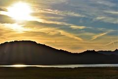 Lake Havasu (thomasgorman1) Tags: chemtrails sun sunlight desery lake havasu narure landscape nikon az arizona contrails