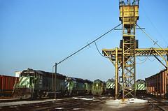 BN SD45 6483 (chuckzeiler50) Tags: bn sd45 6483 railroad emd locomotive clyde train chuckzeiler chz