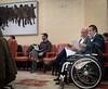 """Ignacio Tremiño asiste a la presentación del estudio """"Conociendo el dolor en la enfermedad crónica"""", a petición del Grupo Parlamentario Popular. (14/12/2018)"""