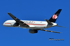 C-FKCJ Cargojet Airways Boeing 757-236(PCF) DSC_0855 (Ron Kube Photography) Tags: aircraft plane flight airliner nikon nikond500 d500 ronkubephotography yyc calgary calgaryinternationalairport cfkcj
