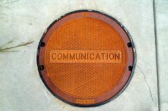 Communication Manhole Cover (Bracus Triticum) Tags: communication manhole cover 8月 八月 葉月 hachigatsu hazuki leafmonth 2018 平成30年 summer august indianapolis インディアナポリス indiana インディアナ州 unitedstates usa アメリカ合衆国 アメリカ