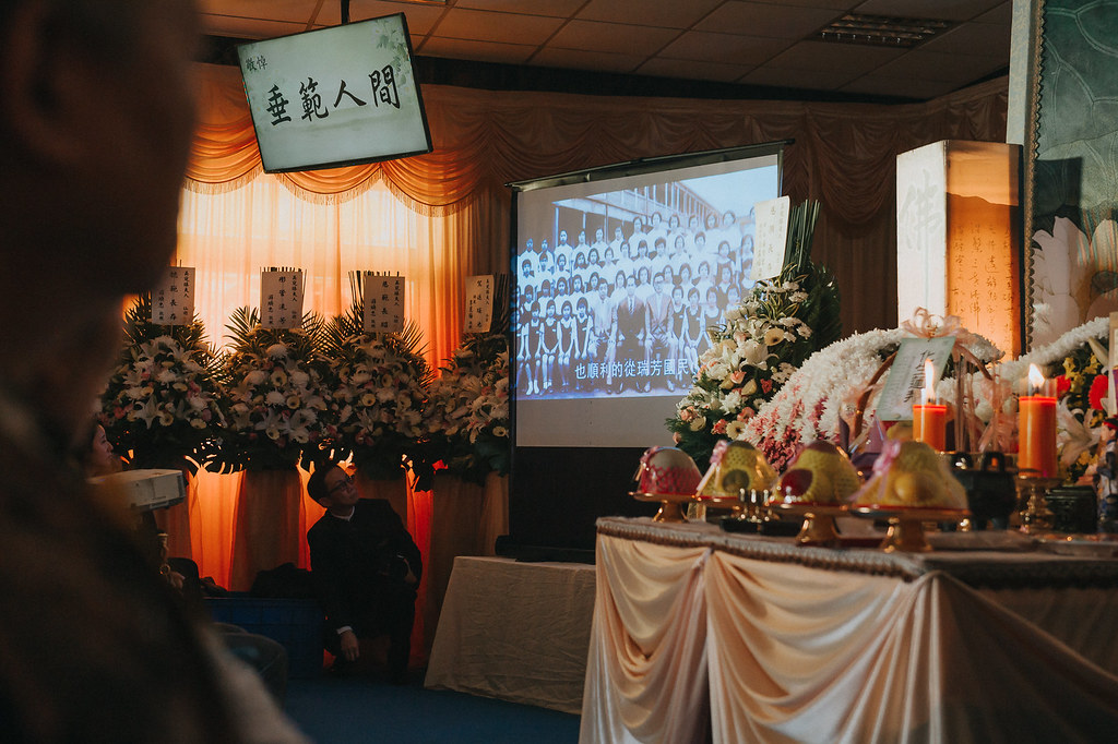 《喪禮攝影》臺北市立第一殯儀館/ 福壽廳 / 吳夫人