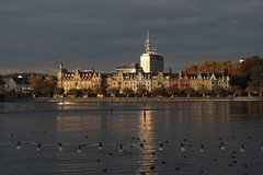 2018PA310116 (SELECTION65) Tags: lakeconstance sunset sonnenuntergang town