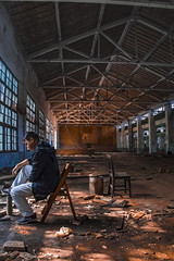 Abandoned factory 20181026-02 (Loverens Huang) Tags: abandoned factory sunlight blue character city decay urban