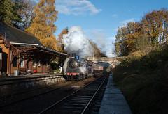 Caledonian Railway No. 828 - Birkhill Station (Jonathon Gourlay) Tags: