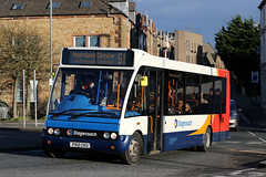 47721 51 PX10 CKU (Cumberland Patriot) Tags: stagecoach north west in cumbria cms cumberland motor services lillyhall depot optare solo m880 47721 px10cku low floor midi bus derv diesel engine road vehicle public transport route 51 moorclose circular town service