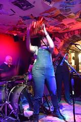 DSC_0324 (richardclarkephotos) Tags: ©richardclarkephotos richard clarke photos ruzz evans guitars blues revue gretsch double bass mike hoddinott joe allen three horseshoes bradford avon wiltshire uk drums album heist