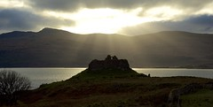Ardtornish Castle, Morven (Ian Mc Farlane) Tags: ardtornishcastle morven scotland 14thcentury clandonald ruin isle mull