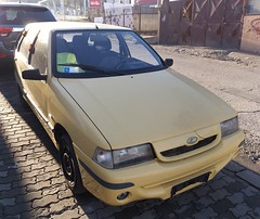 2006 Zastava Florida In 1.3 (FromKG) Tags: zastava yugo floridain 13 yellow car kragujevac serbia 2018
