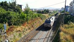 Prima con luces LED (javivillanuevarico) Tags: galicia trenes renfe ealos ferrol
