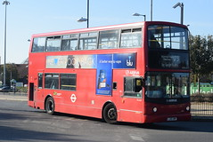 AL VLA131 @ Beckton bus station (ianjpoole) Tags: arriva london volvo b7tl transbus international alx400 lj05gmf vla131 working route 173 beckton bus station king george hospital little heath