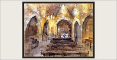 SANTA OLIVA-CASTELL-VERGE-REMEI-PINTURA-ESGLESIA-INTERIOR-ART-ROMANIC-EL VENDRELL-PAISATGES-INTERIORS-POBLES-TARRAGONA-CATALUNYA-PINTURES-PINTOR-ERNEST DESCALS (Ernest Descals) Tags: castell castillo castle esglesia esglesies iglesia iglesias church santaoliva baixpenedes tarragona catalunya elvendrell comarca comarques interir interiors interiores vrgedelremei ermita poble village pobles pueblo pueblos artwork art arte romanica romanic romanico atmosfera magia pintures pintar pinturas quadres cuadros cuadro quadre pintant pintando paint pictures cataluña catalonia pintor pintors pintores catalans catalanes painters painter painting paintings paisatge paisatges ermitage ermites ermitas arquitectura ernest descals llum bancs fusta pedra piedra paredes parets artistas plasticos artistes plastics plastica