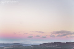 Above the Sky (Michiyo Kurosawa) Tags: scotland unitedkingdom land lanscape sky evening colour mountain blue purple snow horizon peace winter canon mark 5dmarkiii cloud
