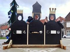 20181221 twee koningen (enemyke) Tags: reyesmagos december 2018 pixeldiary schoondijke kerststal mark selfie driekoningen tweekoningen kerst christmas navidad dosreyes twokings