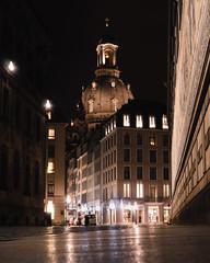 Fürstenzug Dresden (dieforice) Tags: fürstenzug attraction frauenkirche night longexposure sonya6000 dresden germany building architecture streetphotography city