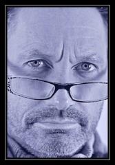 """Mr Serious..."" (NikonShutterBug1) Tags: nikond7100 spe smartphotoeditor tamron60mmmacro portraitprofessional portrait neewers400nstudiostrobeflash"