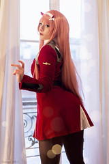 Zero Two - Darling in the FranXX (Florent Joannès) Tags: shooting shoot photo photography portrait photographie modeling mode makeup paris 50mm 2019 irina cosplay darling franxx