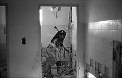 181111_Psiquiatrico_011 (Stefano Sbaccanti) Tags: bw blackandwhite analogicait analogue argentique bianconero leicam5 kentmere400 psiquiatrico asylum urbex urbanexploration abandonado 2018 50summicron spain