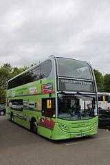 603 YP63 WFC (ANDY'S UK TRANSPORT PAGE) Tags: buses showbus2018 castledonington nottinghamcitytransport
