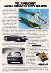 1977 Jaguar XJ 4.2 Six & 5.3 V12 Saloon Aussie Original Magazine Advertisement (Darren Marlow) Tags: 2 3 4 5 6 7 9 19 77 1977 x j xj jaguar 42 53 l litre s six v v12 saloon c car cool collectible collectors classic a automobile vehicle e english england b british britain 70s