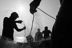 Marina Beach, Chennai (bmahesh) Tags: marinaibeach marina beach chennai tamilnadu india people life street ricohgr