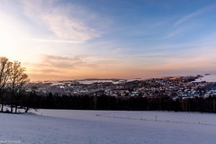Sonnenuntergang über Zschopau (Andi Fritzsch) Tags: sun sunset sunsetfotography winterwonderland winter winterphotography nature naturephotography landscape landscapephotography mist dust erzgebirge sky blusky