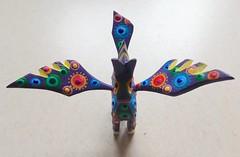 Magic Aloft (MPnormaleye) Tags: utata tabletop colorful carved art mexican figurine xoaxaca dream fantasy mythological horse utata:project=horses