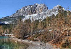 Mount Rundle and Canmore's Rugged Mountains at Grassi Lakes, Alberta Canada (PhotosToArtByMike) Tags: mountrundle grassilakes canmore albertacanada alberta bowvalley canadiancity southerncanadianrockymountains canmorenordiccentreprovincialpark town city rockymountains provinceofalberta bowriver