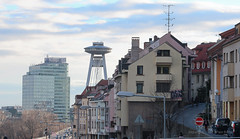 019Jan 18: Bratislava City Landmark (Johan Pipet 2M+ views) Tags: flickr bratislava city town downtown ufo mesto bridge most petržalka stare old architecture urban slovakia slovensko eu europe palo bartos bartoš landmark cityscape canon g7x