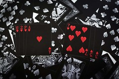 2019 (u2pa 337) Tags: playinggames illusion 50mm magic artist bicycle creativity fun passion dark heart game sonya7iii potographer art photography picture red cards resolutions france 2019 newyear
