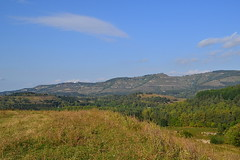 Axis of the Jinal ridge (МирославСтаменов) Tags: russia kislovodsk caucasus jinal mountain axis ridge meadow
