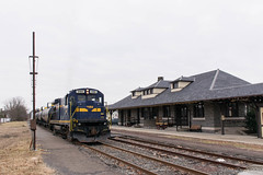 ESPN QT-02 @ Quakertown, PA (Dan A. Davis) Tags: eastpennrailroad espn eastpenn b237 railroad train langhorne freighttrain quakertown pa pennsylvania