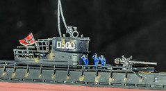 U-Boat (SKAC32) Tags: nichimo 1200 plasticmodel uboat submarine typeixc crew rust canonef100mmf28macrousm macro vowel macromondays