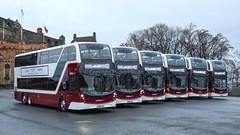 Lothian Enviro400 XLB Launch (MSDC43) Tags: alexanderdennislimited adl scotland edinburgh enviro400xlb enviro400 volvob8l volvo lb buses lothian lothianbuses