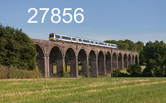 robfranced5d2_27856_030718_x168216_saunderton_viaduct_1g46_ch_edr16lr6coefx4pse15weblowres (RF_1) Tags: 168 168216 2018 6r183td13h buckinghamshire adtranz arriva bombardier britain chiltern chilternline chilternmainline chilternrailways chilterntrains class168 db deutschebahn dieselmultipleunit dmu england franchise greatbritain localtrain mtu oxfordshire passengertrain publictransport rail rails railway railwayviaduct railways saunderton saundertonviaduct train trains transport travel traveling uk unitedkingdom viaduct