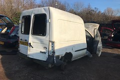 Ford Courier (Sam Tait) Tags: ford fiesta courier van diesel white 18 1997 retro rare old scrap junk mk4