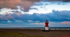 Winkle light Point of Ayre (red.richard) Tags: winkle light iom beach sea clouds sky