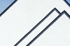 Geometry with roofs (Jan van der Wolf) Tags: map174318v roofs daken dak triangle driehoek geometric geometry geometrisch geometrie lines lijnen lijnenspel interplayoflines playoflines