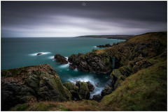 Watch Your Step (Augmented Reality Images (Getty Contributor)) Tags: nisifilters aberdeenshire benro canon cliffs clouds coastline landscape longexposure portsoy rocks scotland seascape storm water waves winter