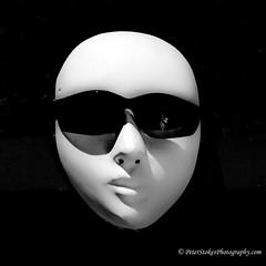 IMG_1471 (Peter.Stokes) Tags: australia australian colour landscape nature outdoors photo photography wildlife colourphotography face sun mask blackwhite black white sunglases whitefaced