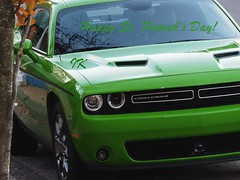 -Happy St. Patrick's Day to ALL! - (Irene, W. Van. BC) Tags: happystpatricksdaytoall stpatricksday celebrations wishes art artforms car cars classiccars beautifulcars allcars greencars classycars challenger 1001nights 1001nightsmagiccity 1001nightsmagicwindows luckoftheirish goodluck magic magical irish gaelic leprechauns believe