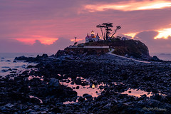 Sunset and Low Tide at Battery Point (dan@propeakphotography.com) Tags: america architecture batterypointlight bluehour buildings california californiahistoricallandmark clouds crescentcity crescentcitylighthouse famousplace flatrock lighthouse nationalregisterofhistoricplaces northamerica pacificocean pacificsunset reflection rocks sunset touristattraction traveldestination travelandtourism usa unitedstates water us elitegalleryaoi bestcapturesaoi 300faves
